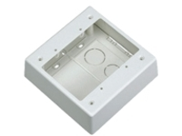 Panduit Pan-Way Low Voltage Surface Mount Outlet Box - surface mount box
