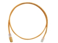 Panduit TX5e patch cable - 7 m - orange