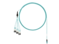 Panduit network cable - 7 m - aqua