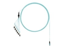Panduit network cable - 28 m - aqua