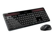 Logitech Wireless Combo MK750 - Keyboard and mouse set - wireless - 2.4 GHz