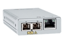 Allied Telesis AT MMC2000LX/SC - fiber media converter - GigE - TAA Compliant