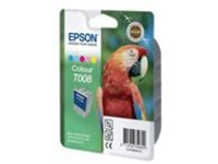 Epson T008 - color (cyan, magenta, yellow, light cyan, light magenta) - original - ink cartridge