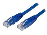 StarTech.com Cat6 Ethernet Cable - 7 ft - Blue - Patch Cable - Molded Cat6 Cable - Short Network Cable - Ethernet Cord …