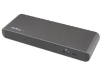 StarTech.com Thunderbolt 3 Dual 4K Dock for Laptops - Windows Only - docking station - Thunderbolt - DP - GigE