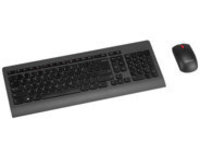 Lenovo Ultraslim Plus Wireless - keyboard and mouse set - Russian - black