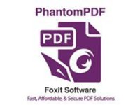 Foxit PhantomPDF Standard (v. 9) - license - 1 user
