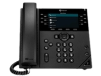 Poly VVX 450 Business IP Phone - VoIP phone - 3-way call capability