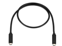 HP 120W - Thunderbolt cable - USB-C to USB-C - 70 cm