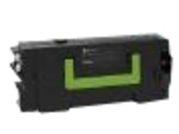 Lexmark - black - original - toner cartridge - LCCP, LRP