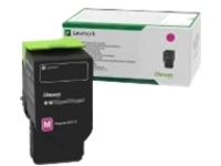 Lexmark - Ultra High Yield - magenta - original - toner cartridge - LCCP, LRP