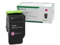 Lexmark - magenta - original - toner cartridge - LCCP, LRP, government GSA