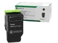 Lexmark - black - original - toner cartridge - LCCP, LRP, government GSA