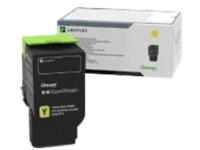 Lexmark - Ultra High Yield - yellow - original - toner cartridge - LCCP