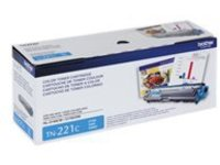 Brother TN-221C - cyan - original - toner cartridge