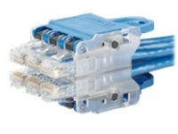 Panduit QuickNet patch cable - 2.13 m - blue