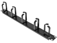 "StarTech.com Server Rack Cable Management - 1U -19"" Metal Rackmount Panel - rack cable management kit - 1U - 19"""