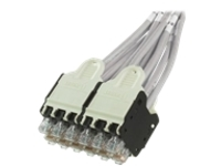 Panduit QuickNet patch cable - 2 m - international gray