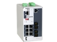 Perle IDS-409F2-C2SD40 - switch - 9 ports - managed