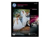 HP Premium Plus - photo paper - 50 sheet(s) - Letter - 300 g/m²