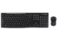 Logitech Wireless Combo MK270 - Keyboard and mouse set - wireless - 2.4 GHz - English
