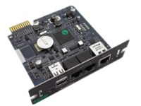 APC Network Management Card 2 with Environmental Monitoring - remote management adapter