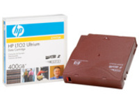 HPE RW Data Cartridge - LTO Ultrium 2 x 1 - 200 GB - storage media
