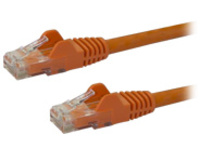 StarTech.com Cat6 Ethernet Cable - 100 ft - Orange - Patch Cable - Snagless Cat6 Cable - Long Network Cable - Ethernet …