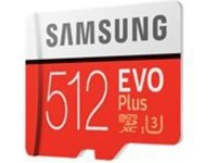 Samsung EVO Plus MB-MC512GA - flash memory card - 512 GB - microSDXC UHS-I