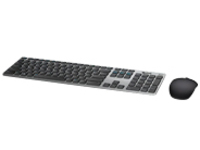 Dell KM717 Premier - keyboard and mouse set - gray