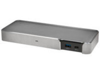 Kensington SD5200T Thunderbolt 3 Dual-4K Dock with 85W PD - Windows & Mac - docking station - DP