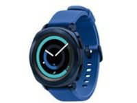 Samsung Gear Sport SM-R600 - blue - smart watch with strap - blue - 4 GB