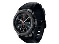 Samsung Gear S3 Frontier - black - smart watch with band - black - 4 GB - T-Mobile