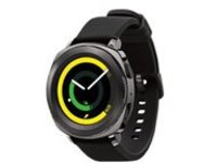 Samsung Gear Sport SM-R600 - black - smart watch with strap - black - 4 GB