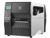Zebra ZT230 - Label printer - thermal transfer - Roll (11.4 cm) - 203 dpi - up to 152 mm/sec - USB 2.0, LAN, serial - cutter
