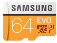 Samsung EVO MB-MP64GA - flash memory card - 64 GB - microSDXC UHS-I