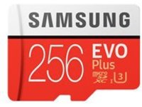 Samsung EVO Plus MB-MC256G - flash memory card - 256 GB - microSDXC UHS-I