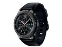 Samsung Gear S3 Frontier - black - smart watch with band - black - 4 GB - AT&T