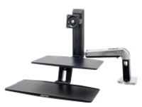 Ergotron WorkFit-A Single HD Workstation with Suspended Keyboard Standing Desk - mounting kit