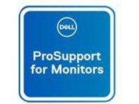 Dell Upgrade from 1Y Advanced Exchange to 5Y ProSupport for monitors - extended service agreement - 5 years - shipment