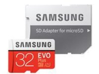 Samsung EVO Plus MB-MC32G - flash memory card - 32 GB - microSDHC UHS-I