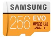 Samsung EVO MB-MP256GA - flash memory card - 256 GB - microSDXC UHS-I