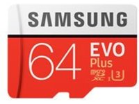 Samsung EVO Plus MB-MC64G - flash memory card - 64 GB - microSDXC UHS-I