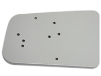 Capsa Healthcare CareLink Left Rear Bin Scanner Printer Mounting Plate - mounting component