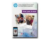 HP Social Media Snapshots - photo paper - 25 sheet(s) - 102 x 127 mm - 265 g/m²