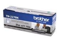 Brother TN-227BK - High Yield - black - original - toner cartridge