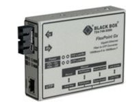 Black Box FlexPoint Modular Media Converter - fiber media converter - GigE