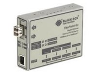 Black Box FlexPoint Modular Media Converter - fiber media converter - GigE - TAA Compliant