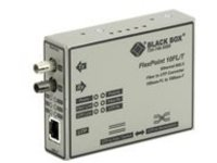 Black Box FlexPoint Modular Media Converter - fiber media converter - 10Mb LAN