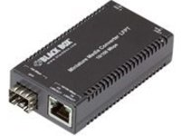 Black Box Miniature Media Converter - fiber media converter - 10Mb LAN, 100Mb LAN